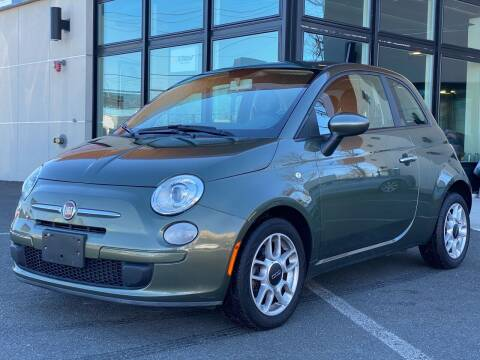 2012 FIAT 500 for sale at MAGIC AUTO SALES in Little Ferry NJ