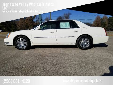 2007 Cadillac DTS for sale at Tennessee Valley Wholesale Autos LLC in Huntsville AL