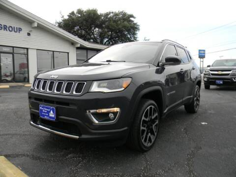 2017 Jeep Compass for sale at MARK HOLCOMB  GROUP PRE-OWNED in Waco TX