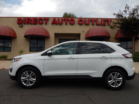 2016 Ford Edge for sale at Direct Auto Outlet LLC in Fair Oaks CA