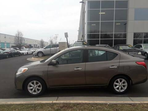2013 Nissan Versa for sale at M & M Auto Brokers in Chantilly VA