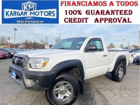2013 Toyota Tacoma for sale at Kargar Motors of Manassas in Manassas VA