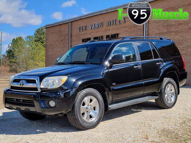 2006 Toyota 4Runner for sale at I-95 Muscle in Hope Mills NC