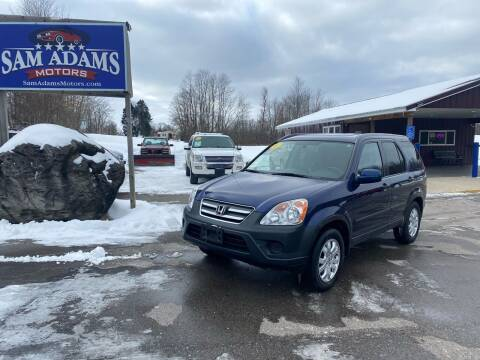 2005 Honda CR-V for sale at Sam Adams Motors in Cedar Springs MI