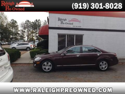 2007 Mercedes-Benz S-Class for sale at Raleigh Pre-Owned in Raleigh NC