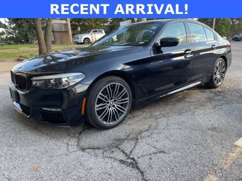 2018 BMW 5 Series for sale at Autohaus Group of St. Louis MO - 3015 South Hanley Road Lot in Saint Louis MO