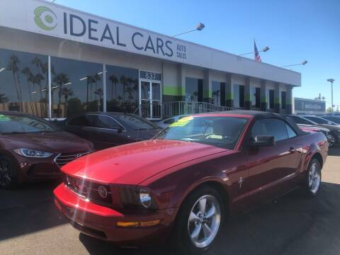 2007 Ford Mustang for sale at Ideal Cars Broadway in Mesa AZ