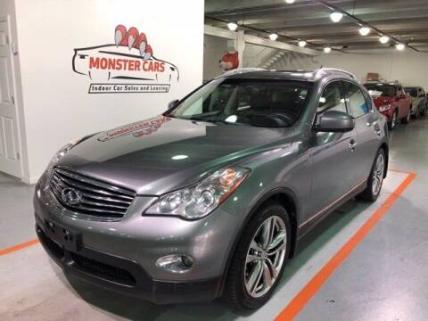 2013 Infiniti EX37 for sale at Monster Cars in Pompano Beach FL