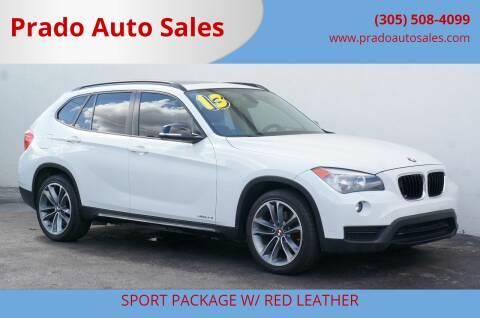 2013 BMW X1 for sale at Prado Auto Sales in Miami FL