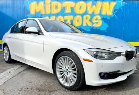 2015 BMW 3 Series for sale at Midtown Motors in San Jose CA