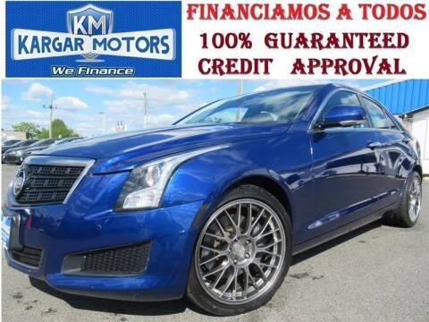 2014 Cadillac ATS for sale at Kargar Motors of Manassas in Manassas VA