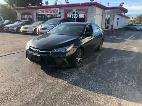 2015 Toyota Camry for sale at CARSTRADA in Hollywood FL