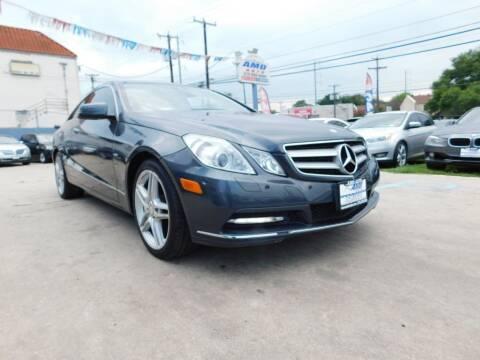 2012 Mercedes-Benz E-Class for sale at AMD AUTO in San Antonio TX