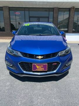 2017 Chevrolet Cruze for sale at East Carolina Auto Exchange in Greenville NC