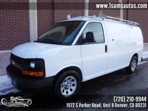 2011 Chevrolet Express Cargo for sale at SAM'S AUTOMOTIVE in Denver CO