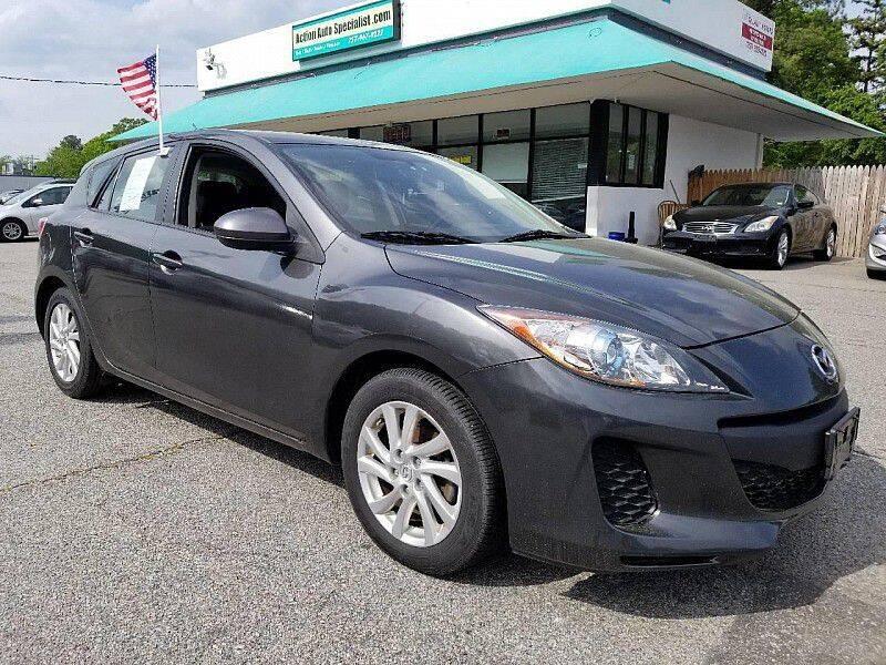 2012 Mazda MAZDA3 for sale at Action Auto Specialist in Norfolk VA