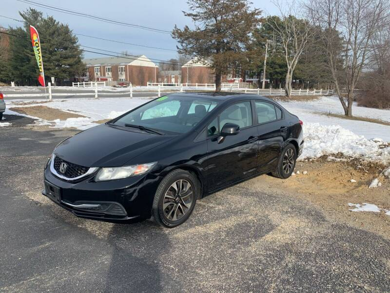 2013 Honda Civic for sale at Lux Car Sales in South Easton MA