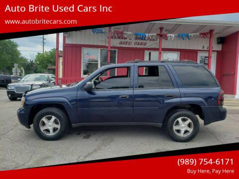 2007 Chevrolet TrailBlazer for sale at Auto Brite Used Cars Inc in Saginaw MI