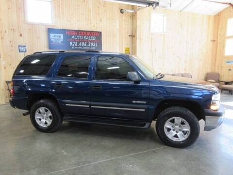 2003 Chevrolet Tahoe for sale at Boone NC Jeeps-High Country Auto Sales in Boone NC