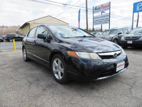 2008 Honda Civic for sale at Auto Match in Waterbury CT