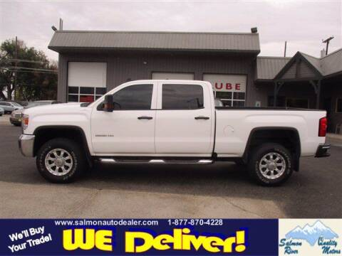 2016 GMC Sierra 2500HD for sale at QUALITY MOTORS in Salmon ID