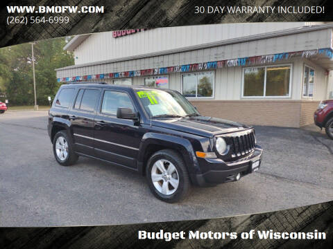 2011 Jeep Patriot for sale at Budget Motors of Wisconsin in Racine WI