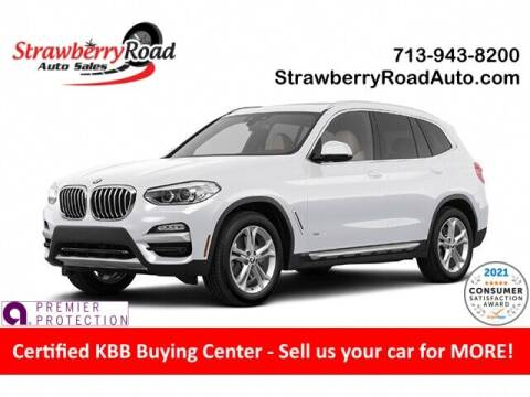 2020 BMW X3 for sale at Strawberry Road Auto Sales in Pasadena TX