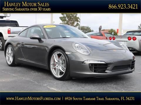 2012 Porsche 911 for sale at Hawley Motor Sales in Sarasota FL