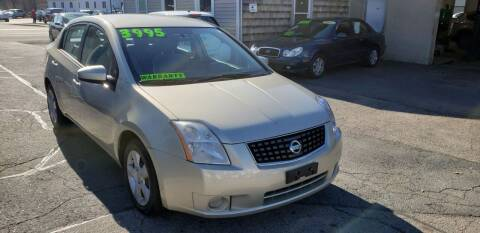 2007 Nissan Sentra for sale at TC Auto Repair and Sales Inc in Abington MA