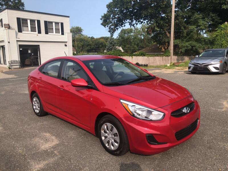 2017 Hyundai Accent for sale at Chris Auto Sales in Springfield MA