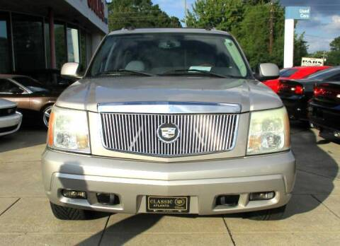 2004 Cadillac Escalade for sale at Pars Auto Sales Inc in Stone Mountain GA