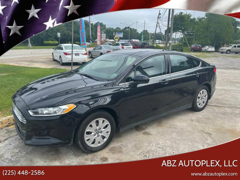 2013 Ford Fusion for sale at ABZ Autoplex, LLC in Baton Rouge LA