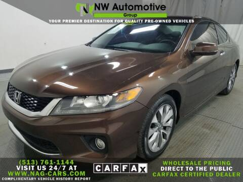 2013 Honda Accord for sale at NW Automotive Group in Cincinnati OH