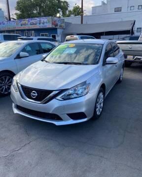 2018 Nissan Sentra for sale at 2955 FIRESTONE BLVD - 3271 E. Firestone Blvd Lot in South Gate CA