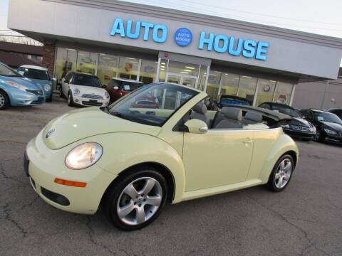 2006 Volkswagen New Beetle Convertible for sale at Auto House Motors in Downers Grove IL