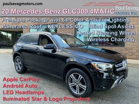 2020 Mercedes-Benz GLC for sale at Paul Sevag Motors Inc in West Chester PA