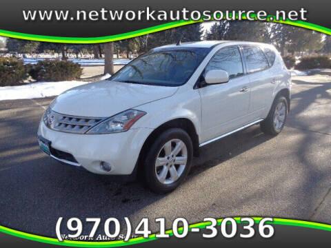 2006 Nissan Murano for sale at Network Auto Source in Loveland CO