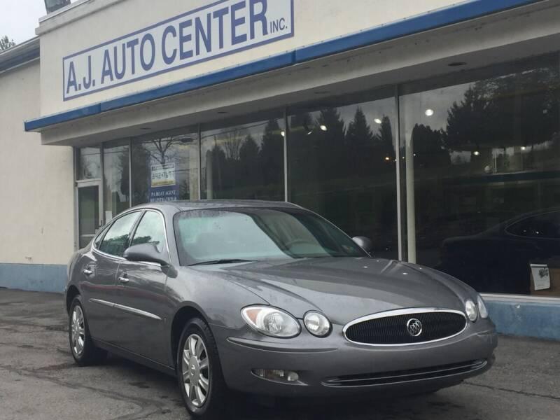 2007 Buick LaCrosse for sale at AJ AUTO CENTER in Covington PA