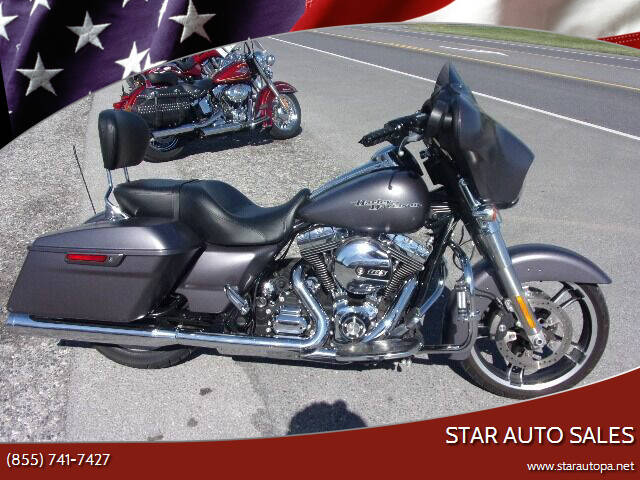 2015 Harley-Davidson Street Glide for sale at Star Auto Sales in Fayetteville PA