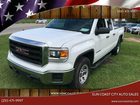 2015 GMC Sierra 1500 for sale at Sun Coast City Auto Sales in Mobile AL