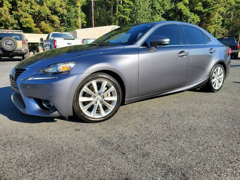 2014 Lexus IS 250 for sale at Brown's Used Auto in Belmont NC