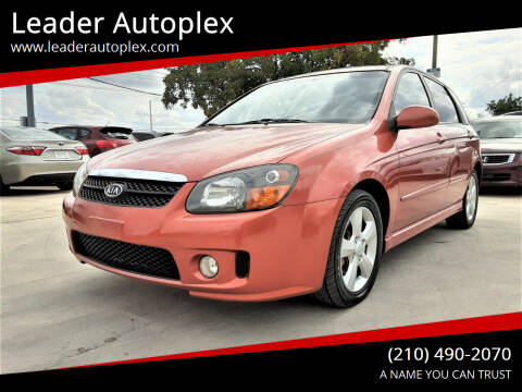 2008 Kia Spectra for sale at Leader Autoplex in San Antonio TX