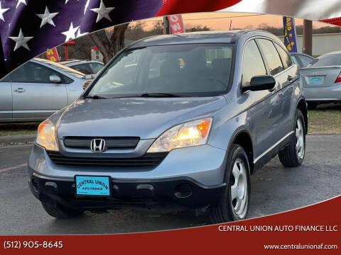 2008 Honda CR-V for sale at Central Union Auto Finance LLC in Austin TX