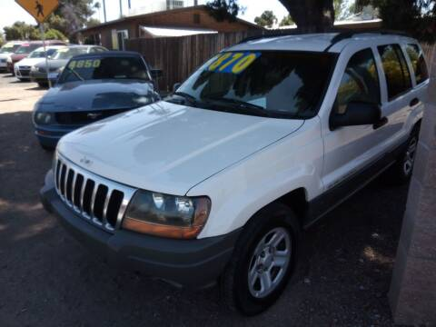 2002 Jeep Grand Cherokee for sale at The Car Guys in Tucson AZ