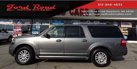 2013 Ford Expedition EL for sale at Ford Road Motor Sales in Dearborn MI