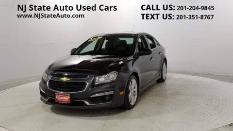 2015 Chevrolet Cruze for sale at NJ State Auto Auction in Jersey City NJ