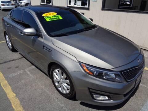 2015 Kia Optima for sale at BBL Auto Sales in Yakima WA