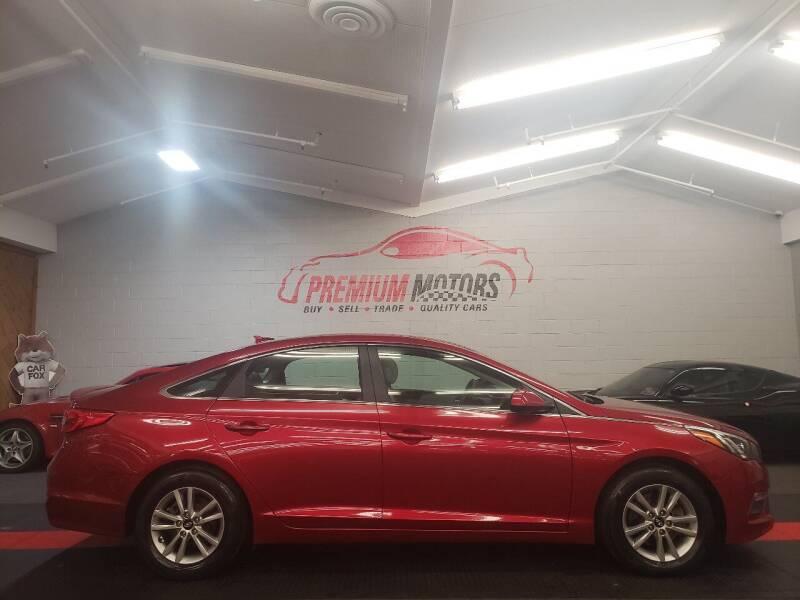 2015 Hyundai Sonata for sale at Premium Motors in Villa Park IL