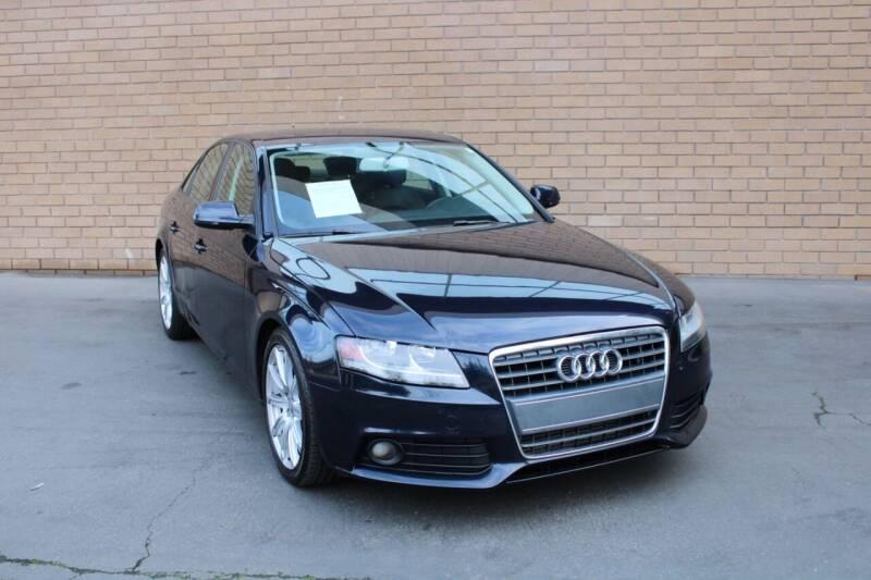 2010 Audi A4 for sale at MK Motors in Sacramento CA