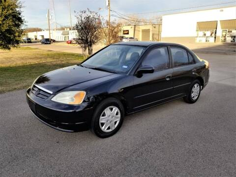2003 Honda Civic for sale at Image Auto Sales in Dallas TX